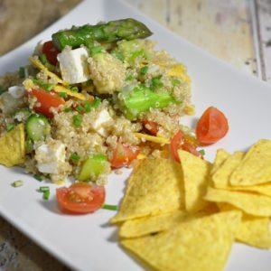 Spargel Tarte mit Schinken - quinoa salat spargel nachos - 14