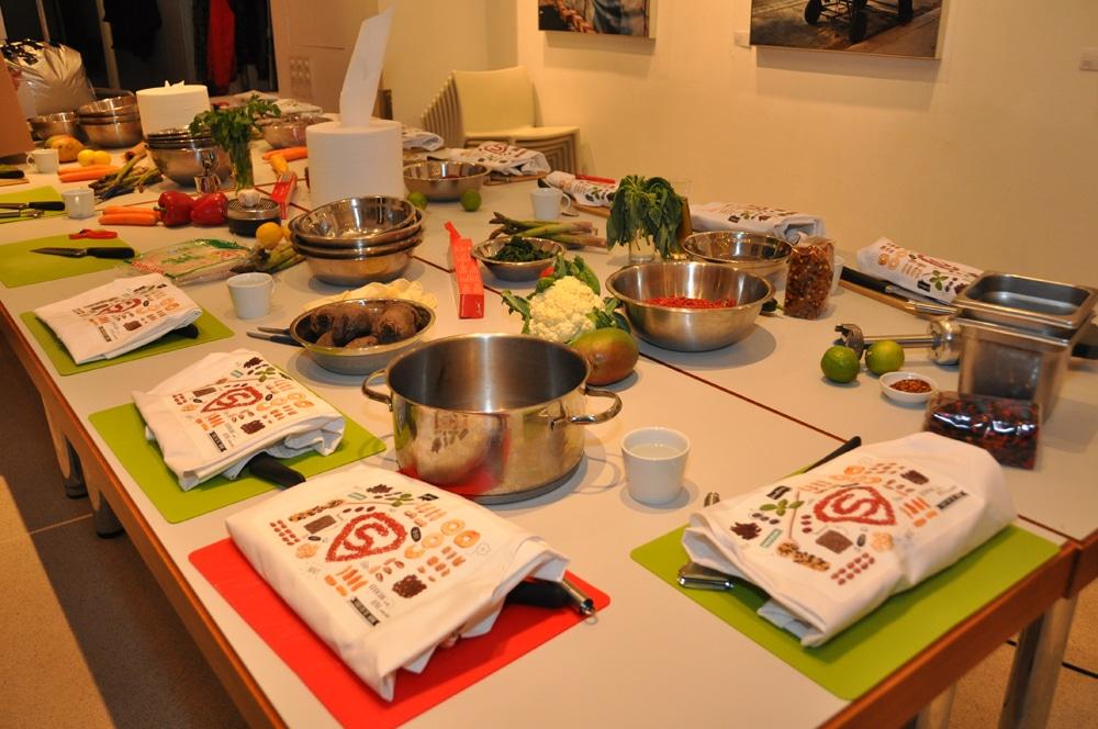 Merkur Kochevent mit Michaela Pesendorfer - merkurevent superfoods 05 - 2
