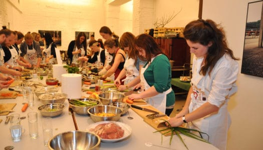 Merkur Kochevent mit Michaela Pesendorfer