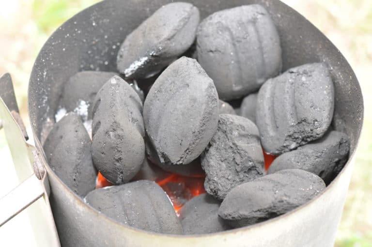 Zarter Rehrücken im Speckmantel mit Rosmarin-Wacholder geräuchert - weber grillbriketts test 07 - 14
