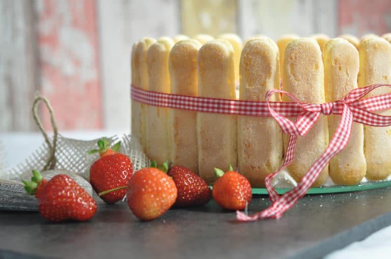 Erdbeertiramisu Torte, der Sommertraum schlechthin! - erdbeertiramisu 4 - 9