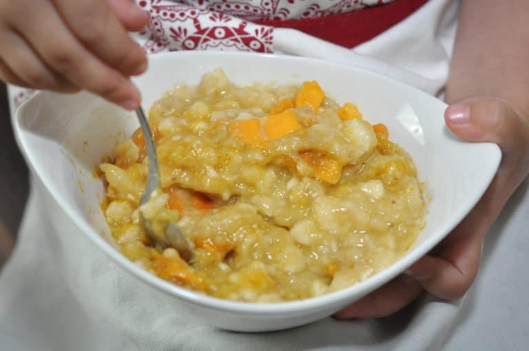 Gegrillte Hühnerbrust mit Bananen-Mango Fülle - hühnerbrust gefüllt - 5