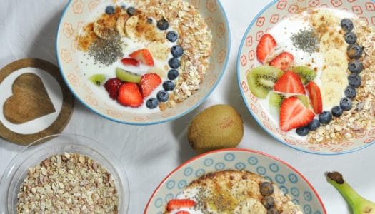 Joghurt Bowl – gestärkt in den Tag starten!