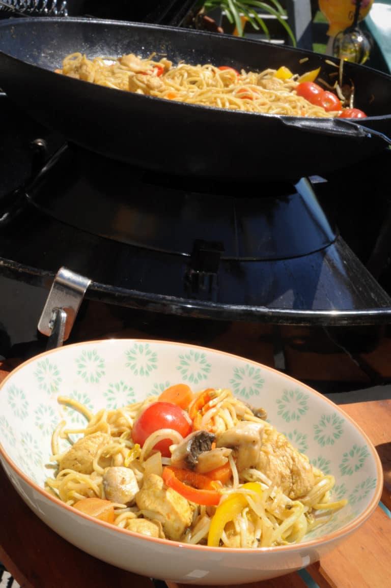 Curry aus dem Wok und direkt vom Grill - curry wok 2 - 10