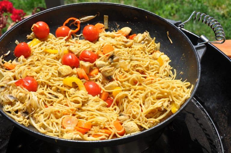 Curry aus dem Wok und direkt vom Grill - curry wok - 8