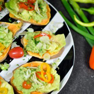 Süßkartoffel Türmchen - ein geniales Beilagenrezept - süßkartoffel toast2 - 14