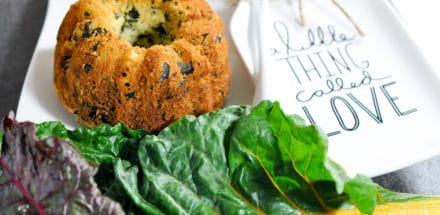 pikante Mangold Muffins - ideal im Herbst - mangold muffin 2 - 9