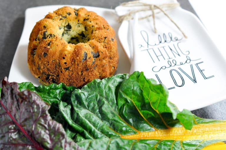 pikante Mangold Muffins - ideal im Herbst - mangold muffin 2 - 3