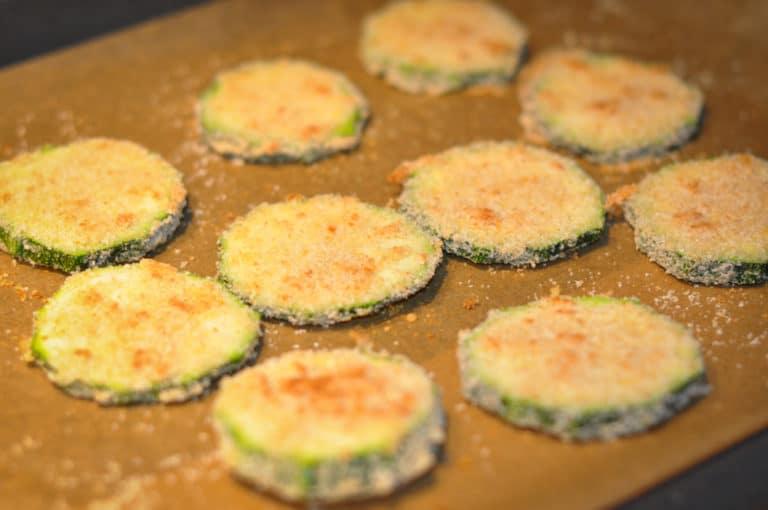 Gebackene Zucchini im Backrohr - gebackene zucchini 3 - 9