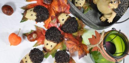 Igelkekse - Keksrezept für den Herbst - igelkekse 1 - 2