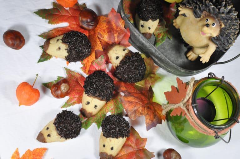 Igelkekse - Keksrezept für den Herbst - igelkekse 1 - 10