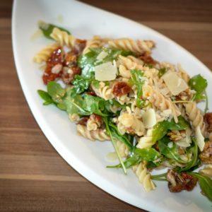 Mango Couscous Salat mit Kichererbsen - antipasti nudelsalat - 4