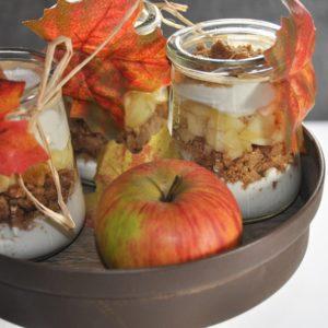 Bratapfel Cupcakes - der etwas andere Winterklassiker - apfel zimt dessert 2 - 8