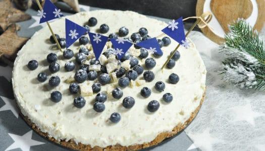 Crispy White Chocolate Cheesecake