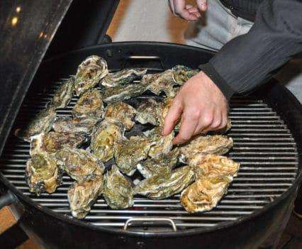 Austern vom Grill