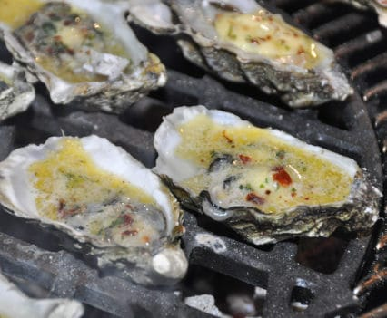 Austern vom Smoker