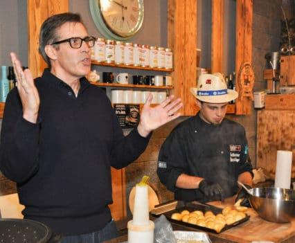 Jamie Purviance erklärt American BBQ