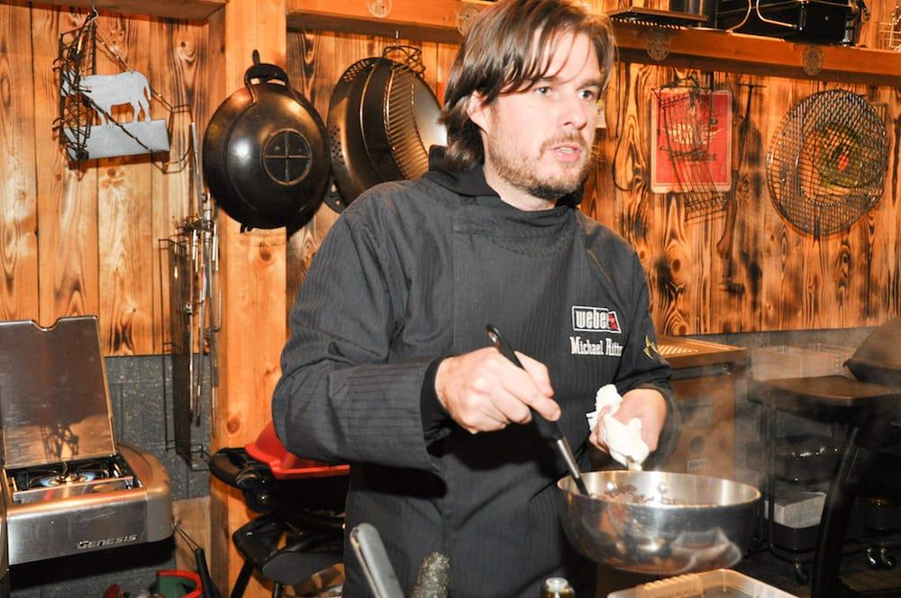Michael Ritter erklärt American BBQ