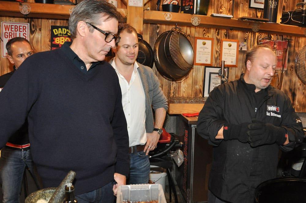 Jamie Purviance und Matthias Fuchs von Weber