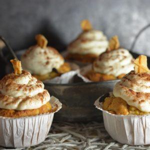 winterliche Bratapfel Cupcakes