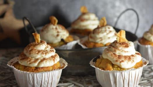 Bratapfel Cupcakes – der etwas andere Winterklassiker