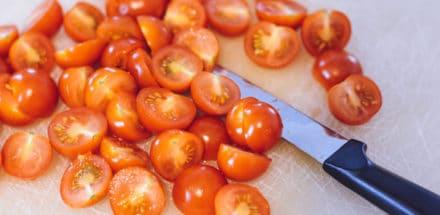 Tomaten halbiert
