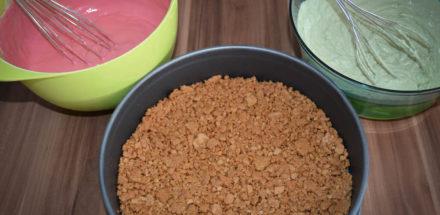 Zutaten für die Matcha Cheesecake