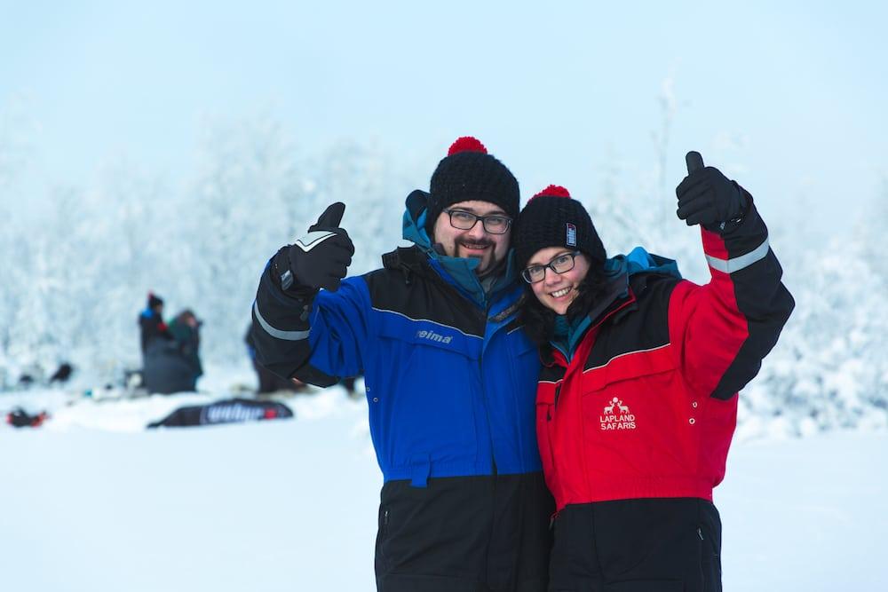 Extreme BBQ in der Wildnis von Lappland - ATWINNER H2A4614 Winners Lake V2 - 26
