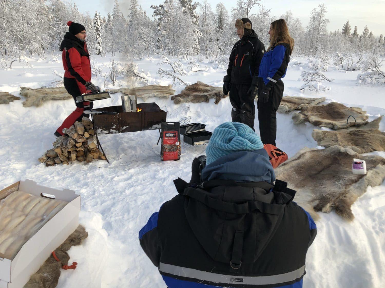 Extreme BBQ in der Wildnis Lapplands - Lappland 088 e1517254541613 - 78
