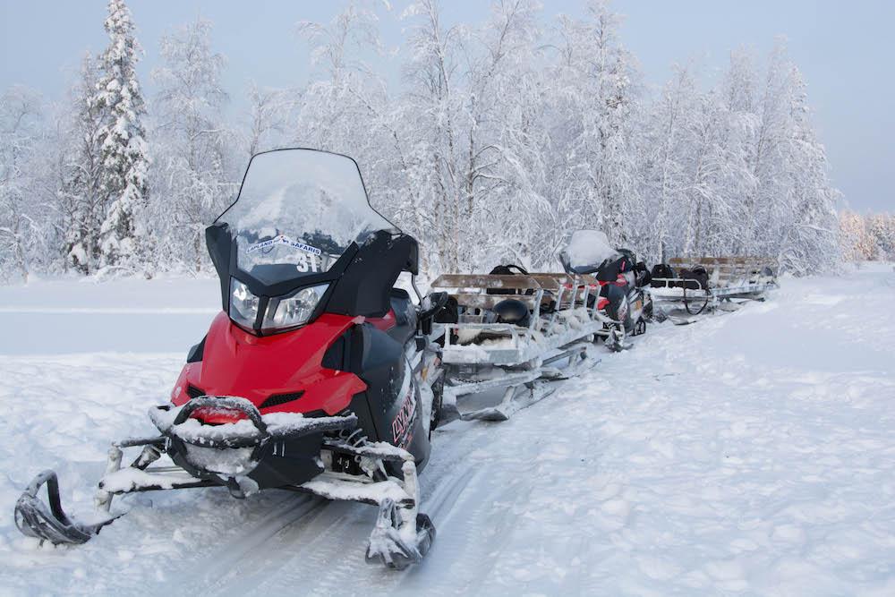 Extreme BBQ in der Wildnis Lapplands - Lappland 088d - 82