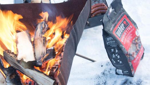 Extreme BBQ in der Wildnis Lapplands
