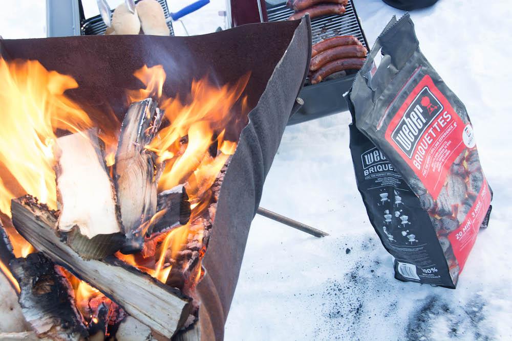 Extreme BBQ in der Wildnis Lapplands - Lappland 088v - 86