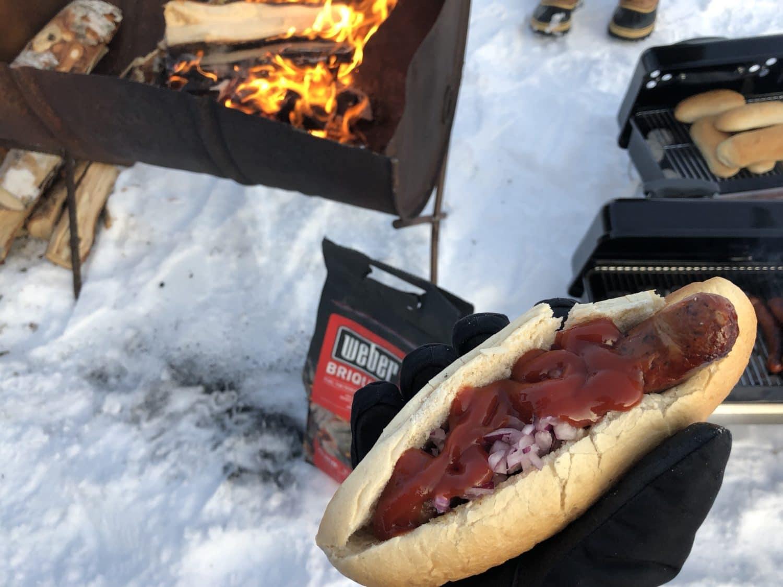Extreme BBQ in der Wildnis Lapplands - Lappland 094 - 98