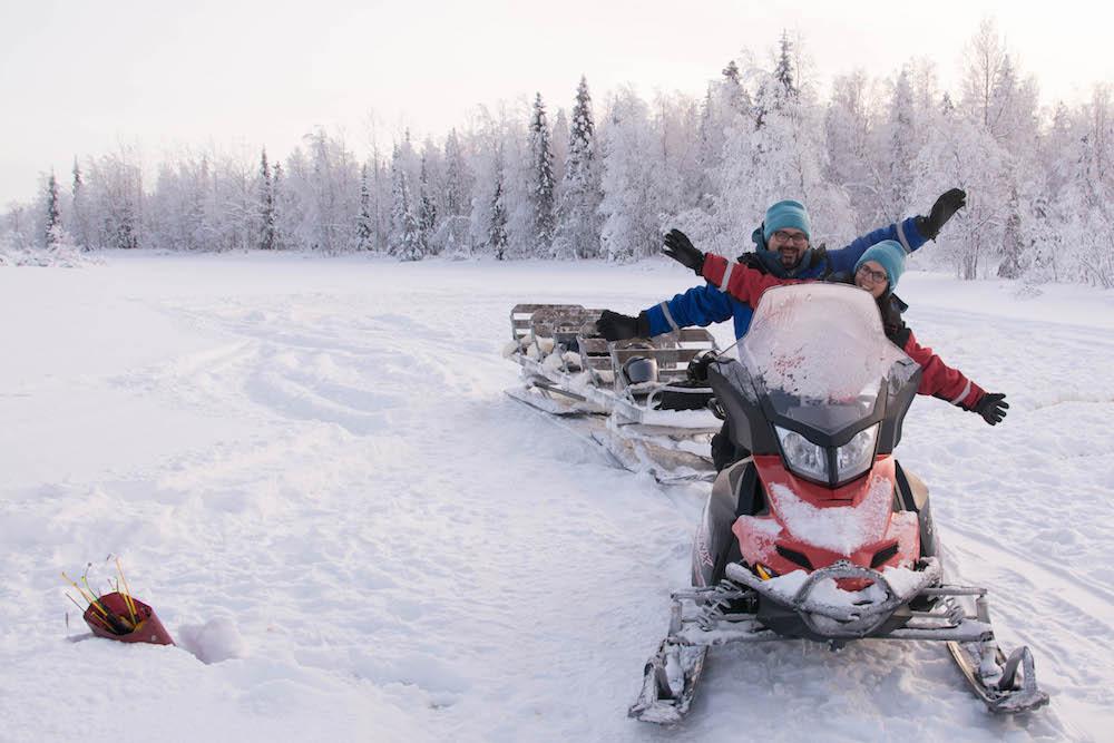 Extreme BBQ in der Wildnis von Lappland - Lappland 094b - 98