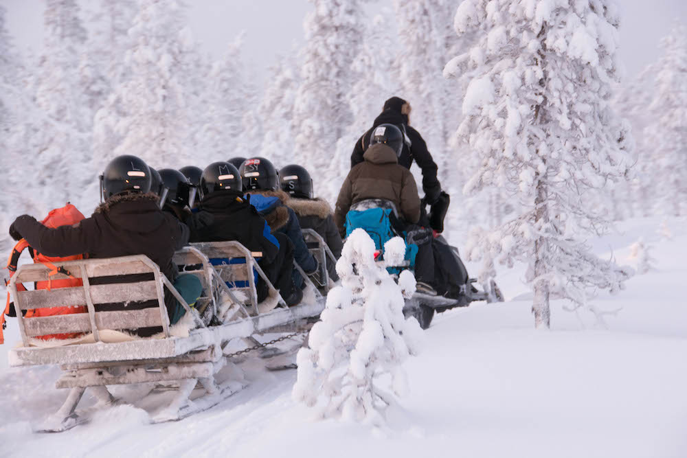 Extreme BBQ in der Wildnis Lapplands - Lappland 094d - 104