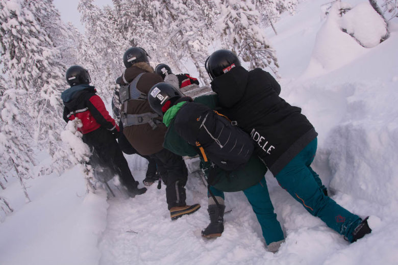 Extreme BBQ in der Wildnis Lapplands - Lappland 094e - 26