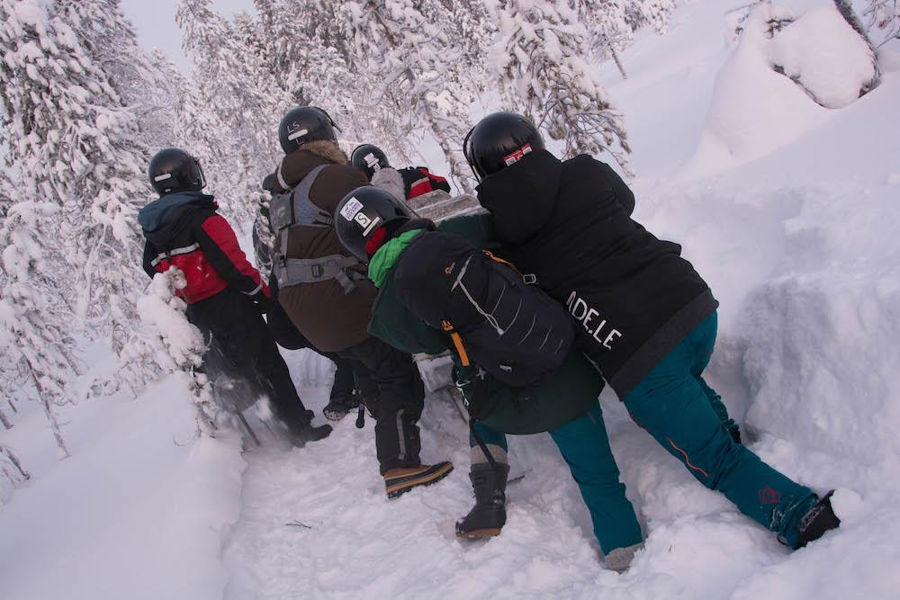 Extreme BBQ in der Wildnis Lapplands - Lappland 094e - 106