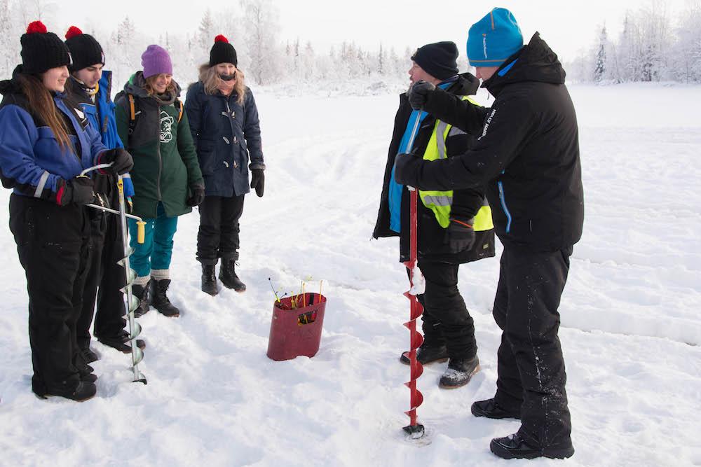 Extreme BBQ in der Wildnis Lapplands - Lappland 123a - 72