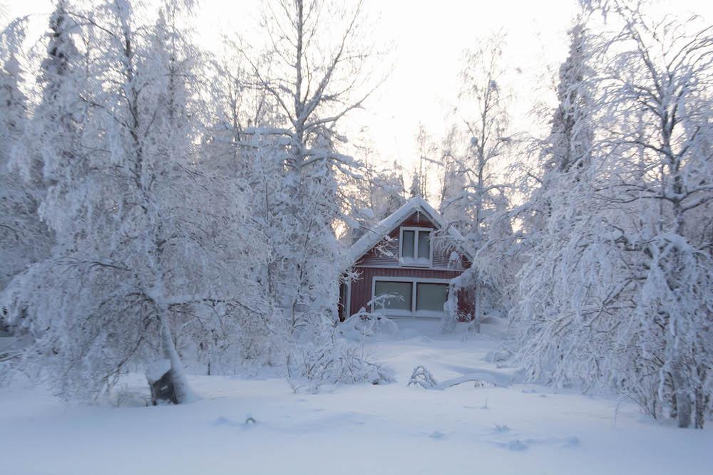 Extreme BBQ in der Wildnis Lapplands - Lappland 124 - 126