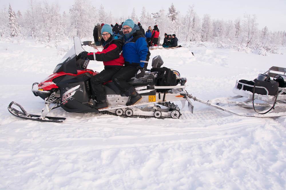 Extreme BBQ in der Wildnis Lapplands - Lappland 94c - 102