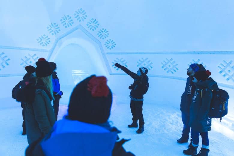 Extreme BBQ in der Wildnis Lapplands - Weber H2A4122 IceHotel - 10