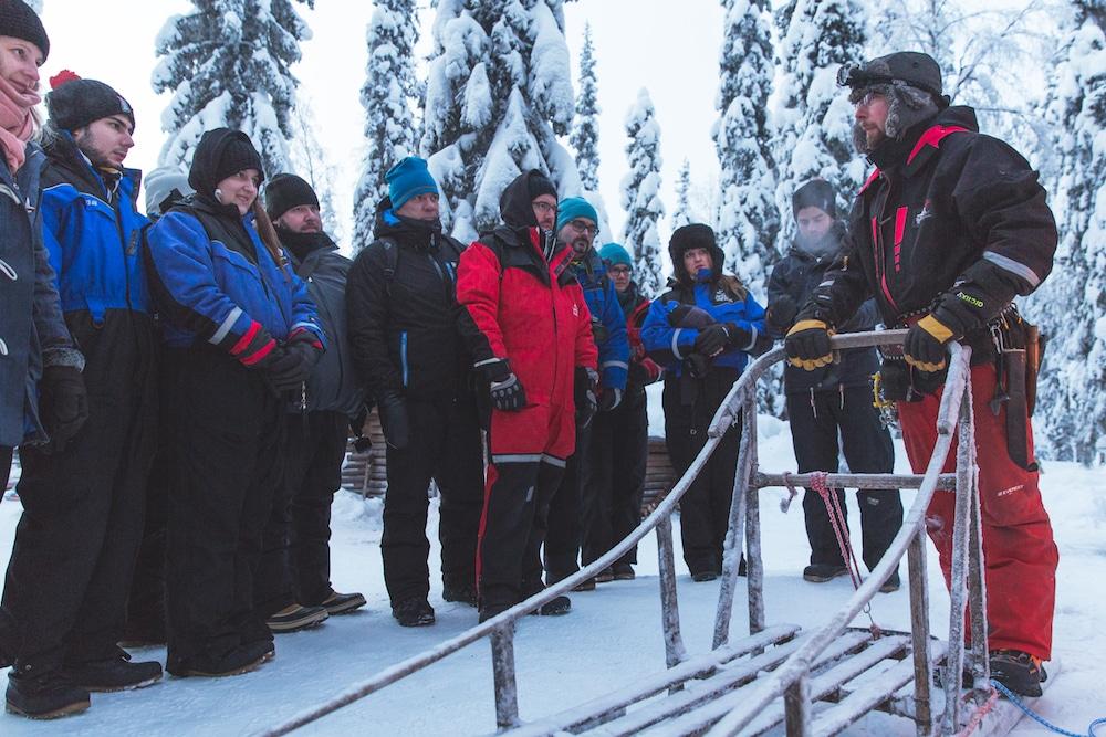 Extreme BBQ in der Wildnis von Lappland - Weber H2A4239 Husky - 16
