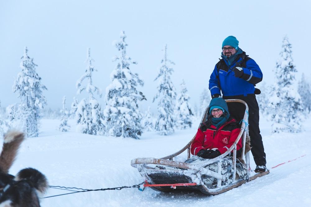 Extreme BBQ in der Wildnis von Lappland - Weber H2A4379 Husky - 20