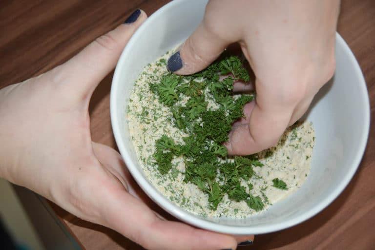 Geräucherte Lammlachse in Kräuterkruste - lammlachse vom grill 3 - 13