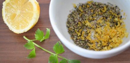 Marinade fürs Lemon Ragout