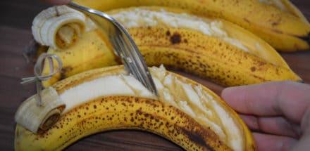 Bananen Dessert vom Grill