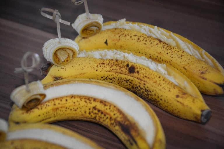 Bananenschiffchen vom Grill