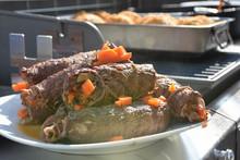 Rindsrouladen aus dem Weber Dutch Oven