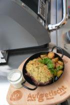 Roastbeef vom Grill mit Kräuterkruste
