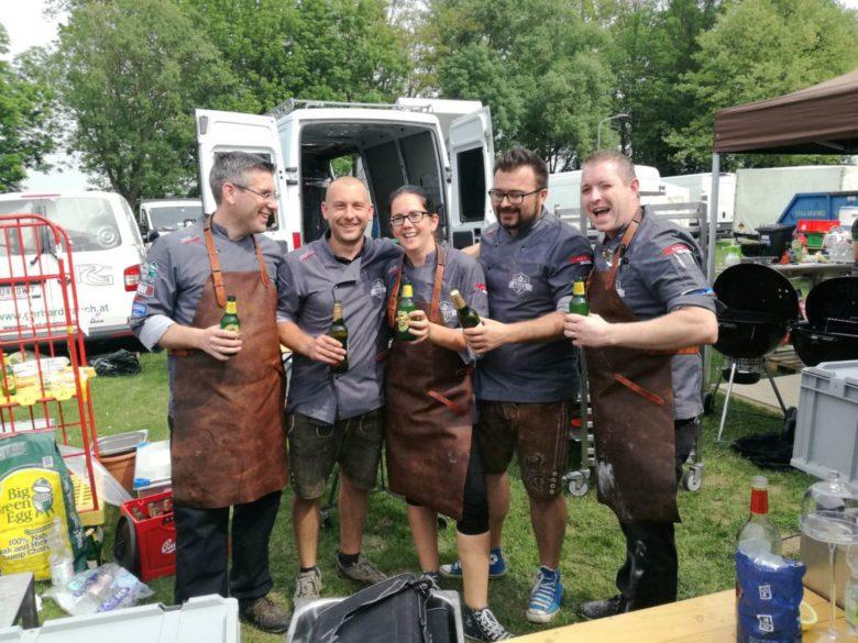 Unser Team Fresh off the Gril auf der Grill & BBQ Staatsmeisterschaft in Horn